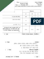 new math grade 7- nour randa dec