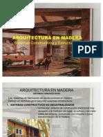 ARQUITECTURA  EN MADERA PRESENTACION