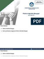 Materi_Skema Pelatihan Platform Merdeka Mengajar SMK
