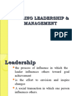 Nursing Leadership and Management 2