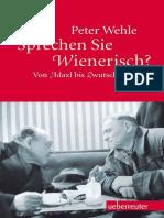 Sprechen Sie Wienerisch Von Adaxl Bis Zwutschkerl by Peter Wehle [Wehle, Peter] (Z-lib.org)