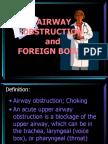Airway Obstruction