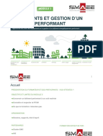 Equipements Et Gestion d'UN Bâtiment Performant - Module 3