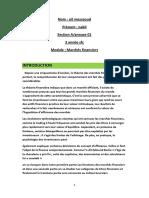 Emd Marchès Financiers