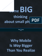 Some Big Thinking about small phones