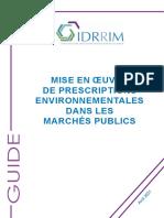 8500-IDRRIM_Guide-Mise-en-oeuvre-de-prescriptions environnementales dans les marchés publics avr 2021