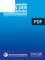 Krebs Der Speiseroehre BlaueRatgeber DeutscheKrebshilfe