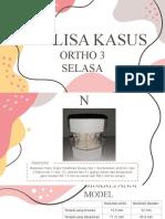 Analisa Kasus Ortho 3-1