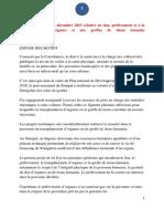 Loi n° 2015-22 du 08 décembre 2015 relative au don, prélèvement et à la transplantation d'organes et aux greffes de tissus humains - Sénégal