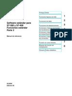 STEP 7 - Funciones de sistema y funciones estándar para el TI-S7-Converter