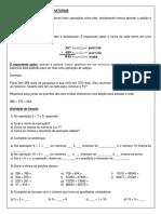 Atividade Remota de Matemática N 04 - 6º ano