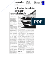 "DACIA DUSTER NA ""VIDA ECONÓMICA"""