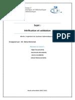 Vérification-et-validation