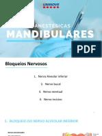 Técnicas anestésicas mandibulares