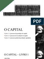 Apresentação 2 - O Capital - estrutura e capítulos 1 a 4