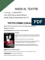 Anem Al Teatre 2011 PDF