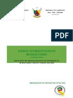 Document de Programmation Économique Et Budgétaire 2022-2024
