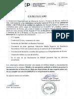 2da. Convocatoria - Llamado Concurso Administrativo - Esc. C Gdo. 2