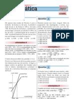 exercicios resolvidos sobre funções e suas aplicaçlões