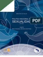 Política Nacional de Sexualidad  [Parte 1]