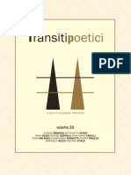 Transiti Poetici Vol XXVIII
