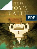 This Boy's Faith by Hamilton Cain - Excerpt
