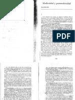 Modernidad y postmodernidad (2)