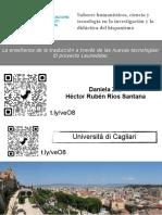 Proyecto Formativo de creación de contenido digital en un Marco de aprendizaje de Aprendizaje-Servicio (ApS) en la Enseñanza del Español como Lengua Extranjera en la enseñanza superior