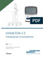 HAMILTON C3 Ops Manual SW2.0.x Ru 624452.05