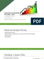 Wiederholung + Clusteranalyse