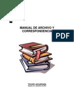 Manual de Archivo y Correspondencia