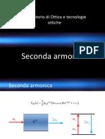 Laboratorio Ottica Non-lineare