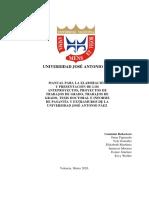 Manual de Normas Trabajo de Grado Definitivo Junio 2020