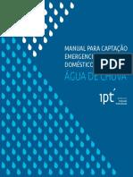 IPT - Manual Para Captação Emergencial e Uso Doméstico de Água Da Chuva