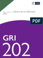 GRI 202 Y 203