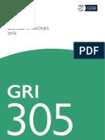 GRI 305 Y 306
