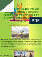 Fundamentos de Ataque en El Voleibol