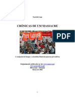 Tarcísio Lage - cronicas de um massacre