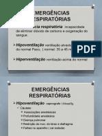 Complicações e Emergencias