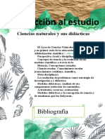 iniciacion al estudio de las ciencias naturales y sus didacticas