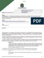 Acordao - Turma Recursal JFSE - Afasta a coisa julgada