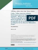Sobre Historia Del Pueblo Argentino Del