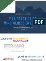 IE y la practica de Mindfulness en el aula