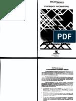 CUADERNOS INFORMATIVOS SIDOR 1 AL 18 Estructuras Metalicas