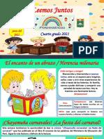 Actividad de aprendizaje 4° - miércoles 09 de junio del  2021 - Plan Lector