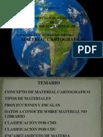 DESCRIPCION MATERIAL CARTOGRAFICO