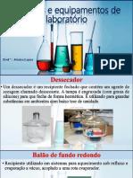 Vidrarias e equipamentos de laboratório