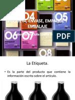 Empaque, Envase, Embalaje y Etiqueta