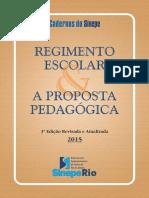 Regimento Escolar e Proposta Pedagógica