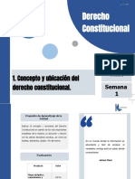 Semana 1 Derecho Constitucional